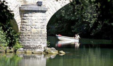 Fleuve entre Cognac et Saint-Brice
