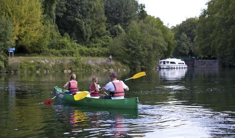 Activité sur le fleuve